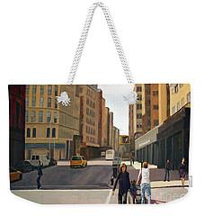 Walking The Lines Weekender Tote Bag