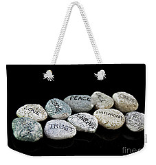 Walking The Right Path Weekender Tote Bag