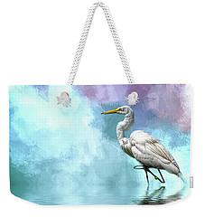 Walking Thru The Marsh Weekender Tote Bag by Cyndy Doty