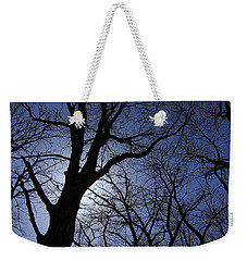 Walking To The Light #1 Weekender Tote Bag