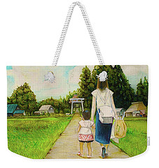 Walking To The Shrine Weekender Tote Bag