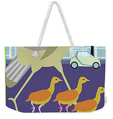 Walking Tours Weekender Tote Bag