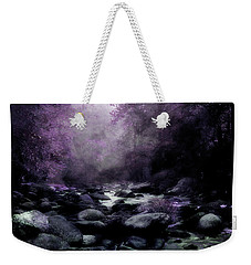 Walking Upstream Weekender Tote Bag