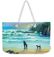 Walking With Grandpa - Painting Weekender Tote Bag