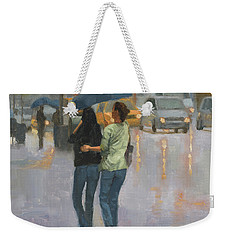 Walking With You Weekender Tote Bag