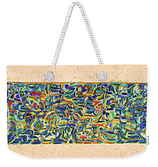 Walkway Abstract Weekender Tote Bag