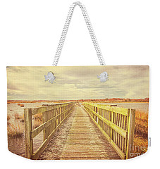Walkway At Bivalve Weekender Tote Bag