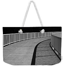 Weekender Tote Bag featuring the photograph Walkway by Chevy Fleet
