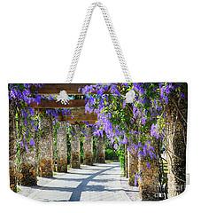 Walkway Of Queens Wreath Flowers  Weekender Tote Bag