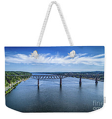 Walkway Over The Hudson Weekender Tote Bag