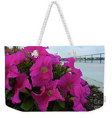 Walkway Petunias Weekender Tote Bag