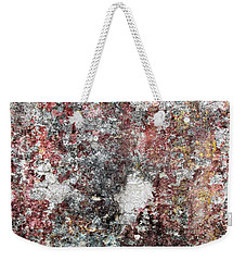 Wall Abstract 103 Weekender Tote Bag by Maria Huntley