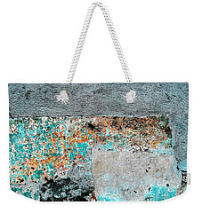 Wall Abstract 117 Weekender Tote Bag by Maria Huntley