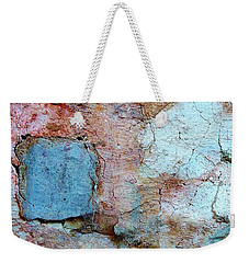 Wall Abstract 138 Weekender Tote Bag by Maria Huntley