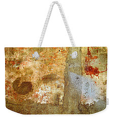 Wall Abstract 156 Weekender Tote Bag by Maria Huntley