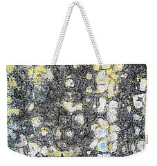 Wall Abstract 162 Weekender Tote Bag by Maria Huntley