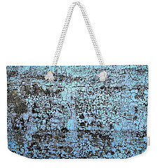 Wall Abstract 163 Weekender Tote Bag by Maria Huntley