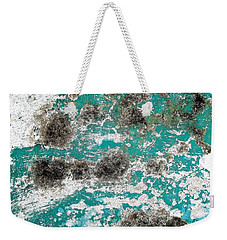 Wall Abstract 171 Weekender Tote Bag by Maria Huntley