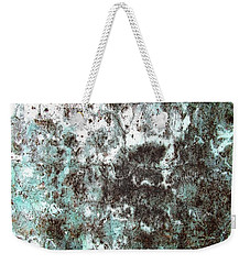 Wall Abstract 173 Weekender Tote Bag by Maria Huntley