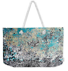Wall Abstract 174 Weekender Tote Bag by Maria Huntley