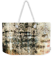 Wall Abstract 182 Weekender Tote Bag by Maria Huntley