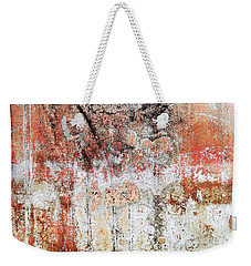 Wall Abstract  183 Weekender Tote Bag by Maria Huntley