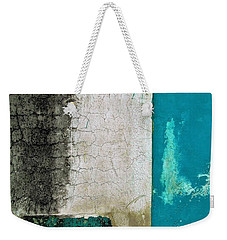 Wall Abstract 296 Weekender Tote Bag by Maria Huntley