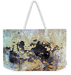 Wall Abstract 68 Weekender Tote Bag by Maria Huntley