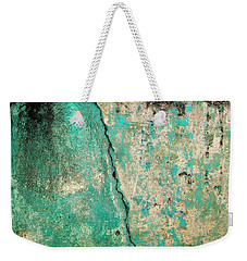 Wall Abstract 97 Weekender Tote Bag by Maria Huntley