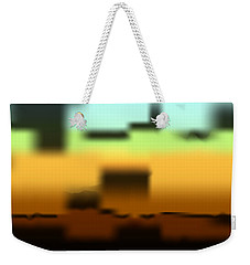 Weekender Tote Bag featuring the digital art Wall Gradient by Kevin McLaughlin