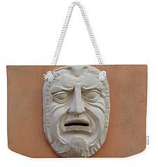 Wall Mask Weekender Tote Bag