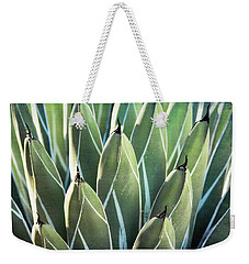 Weekender Tote Bag featuring the photograph Wall Of Agave  by Saija Lehtonen