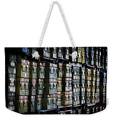 Wall Of Containment Weekender Tote Bag