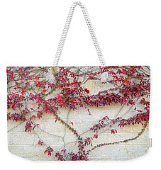 Wall Of Leaves 2 Weekender Tote Bag