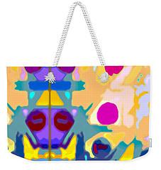 Wall Paper Weekender Tote Bag