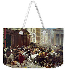 Wall Street: Bears & Bulls Weekender Tote Bag