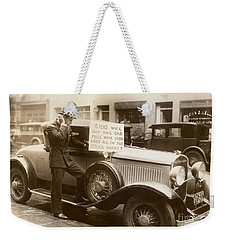 Wall Street Crash, 1929 - To License For Professional Use Visit Granger.com Weekender Tote Bag