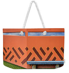 Wall With A View Weekender Tote Bag