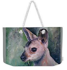 Wallaby Grazing Weekender Tote Bag