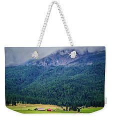 Weekender Tote Bag featuring the photograph Wallowa Valley by TK Goforth