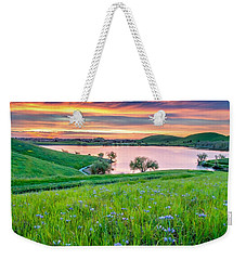 Wally Baskets Above Contra Loma  Weekender Tote Bag