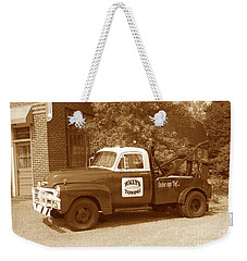 Weekender Tote Bag featuring the photograph Wally by Eric Liller