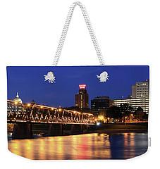 Walnut Street Bridge Weekender Tote Bag by Shelley Neff