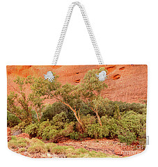 Weekender Tote Bag featuring the photograph Walpa Gorge 03 by Werner Padarin