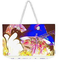 Weekender Tote Bag featuring the digital art Walt Disney World 100 Years Of Magic Celebration 2001-2002 by A Gurmankin