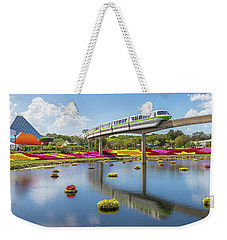 Weekender Tote Bag featuring the photograph Walt Disney World Epcot Flower Festival by Robert Bellomy