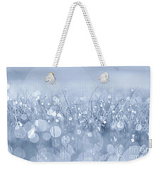 Waltz In The Garden Blue Weekender Tote Bag