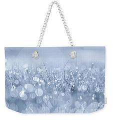 Waltz In The Garden Blue Weekender Tote Bag