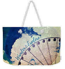 Wander And Explore Weekender Tote Bag