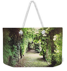 Weekender Tote Bag featuring the photograph Wandering by Karen Stahlros